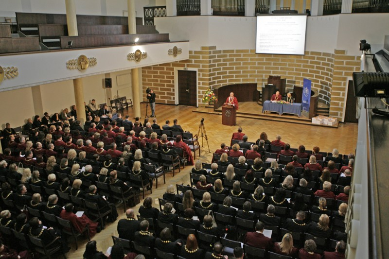 02.11.2012. Ivars Bickovics, the Chief Justice of the Supreme Court, opens Latvian Judicial Conference
