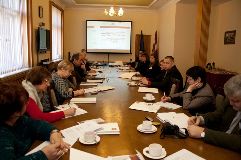 24.01.2014. Developing constructive cooperation with media, the Supreme Court organised informative educational Media Day, to which journalists from national and regional newspapers, television and web sites, who write about and create television programmes about justice, were invited