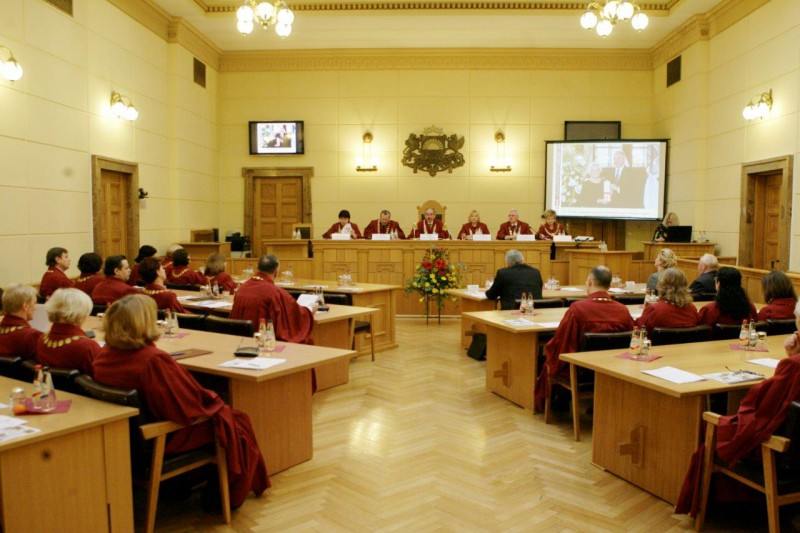 06.03.2015. The Plenary Session of the Supreme Court