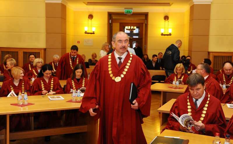 24.04.2015. At the Plenary Session of the Supreme Court, judges nominated Ivars Bickovics, the previous Chief Justice of the Supreme Court, to respective office. Saeima must further vote for the candidate nominated by the Plenary Session of the Supreme Court