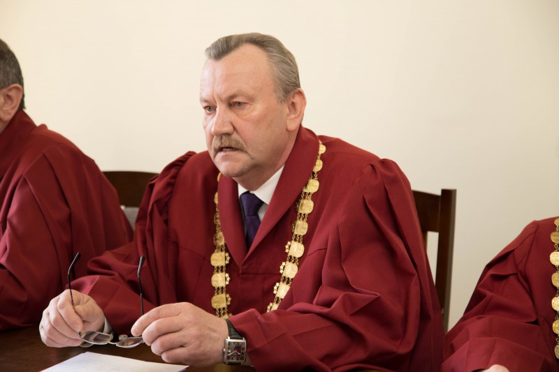 22.04.2016. Peteris Dzalbe is re-elected to the office of the Chair of the Department of Criminal Cases