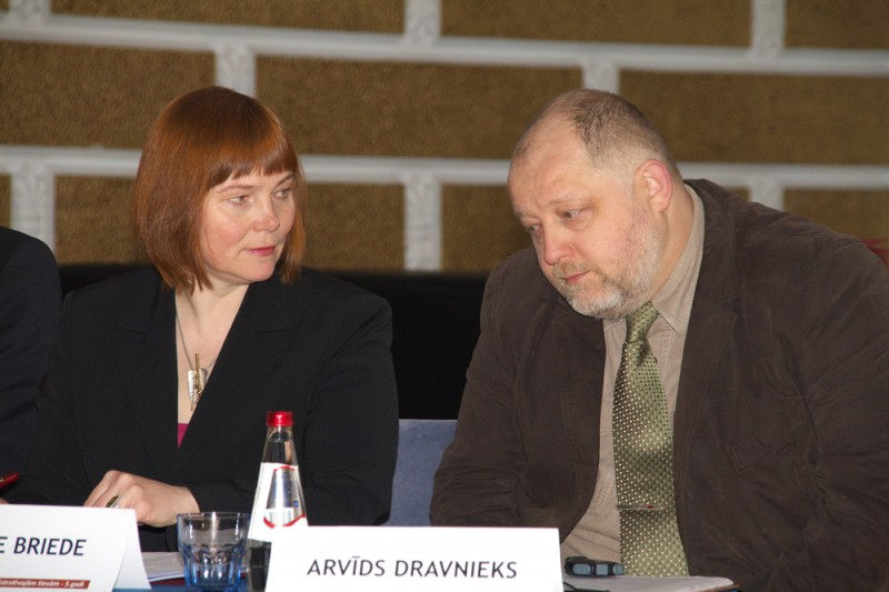 Authors of the idea of Administrative Procedure Law and acknowledged specilists Jautrite Briede and Arvids Dravnieks