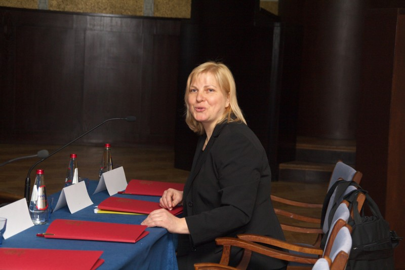 The Chair of the Department of Administrative Cases of the Senate Veronika Krumina