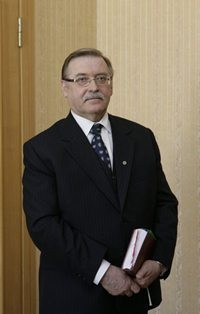Pavels Gruzins, former Chair of the Department of Criminal Cases of the Senate