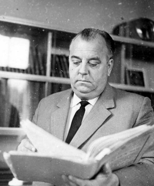 Boleslavs Azans was the Chief Justice of the Latvian SSR Supreme Court from 1956 until 1985. Photo by J. Poiss from the State Archives, 1966
