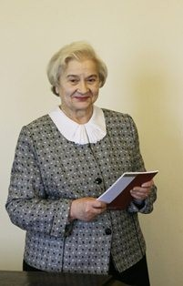 Aiva Zarina, former judge of the Chamber of Civil Cases