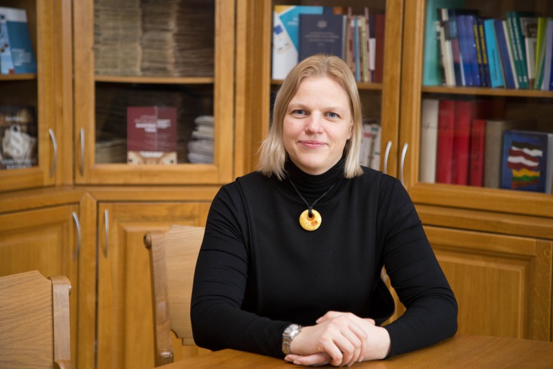 Anita Zikmane, the Head of the Division of Case-law and Research