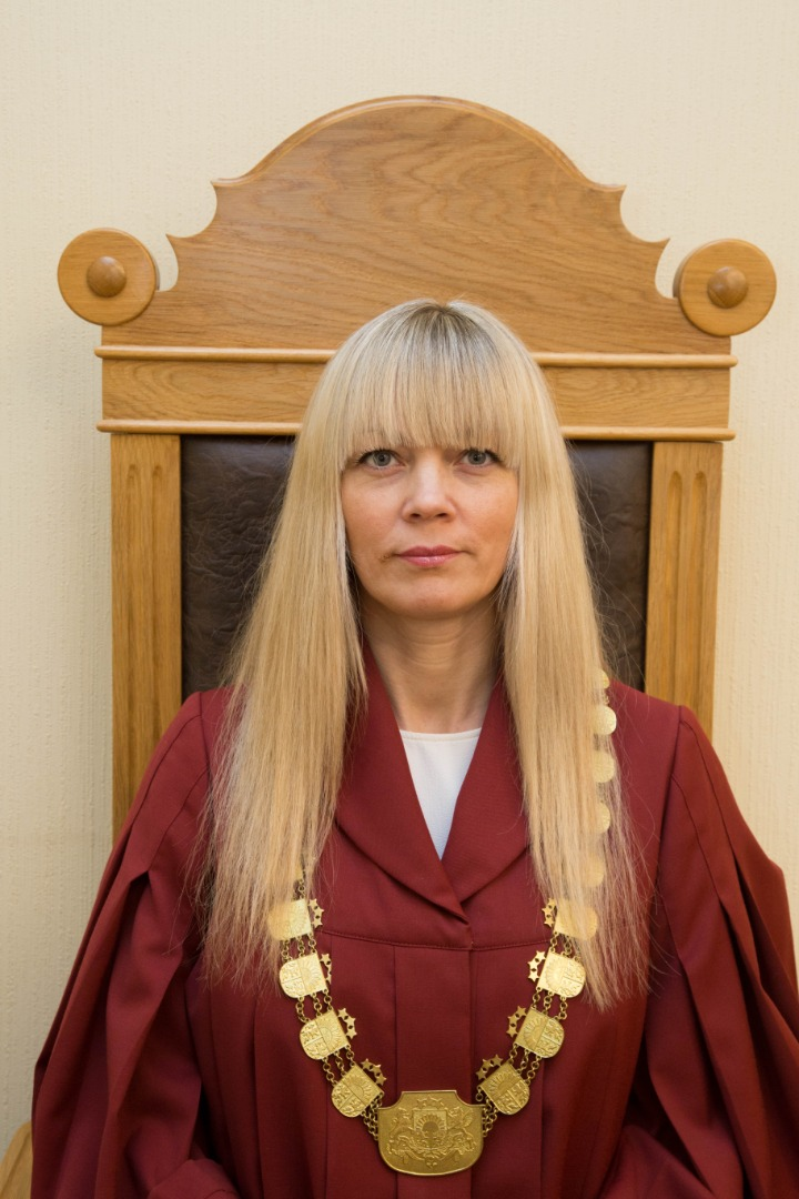 23.02.2021. Diana Makarova has been appointed as senator of the Supreme Court