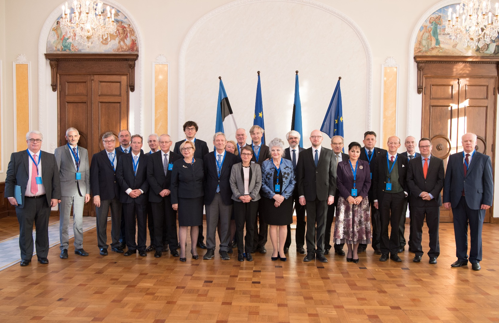20.10.2017. The Presidents of the Supreme Courts of the member States of the European Union meet in Estonia