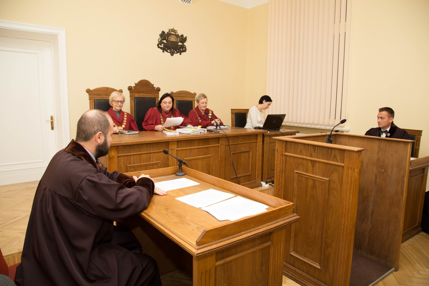 30.12.2016. In parallel with the reform of Latvian judicial system of January 1 the structure of the Supreme Court has changed. The appellate instance – the Chamber of Civil Cases – has ceased its activity and henceforth the Supreme Court will only be the cassation instance and cases will be heard by three departments – the Department of Civil Cases, the Department of Criminal Cases and the Department of Administrative Cases. With the termination of work of Chamber of Civil Cases, the Secretariat of the Chamber of Civil Cases is liquidated. Subsequently, the Court now has one Chancery.