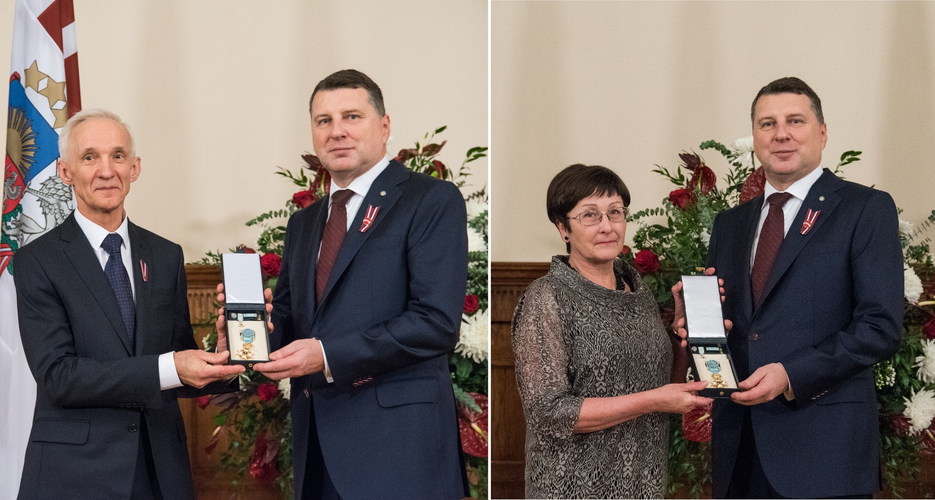 18.12.2017. On the Proclamation Day of the Republic of Latvia, November 18, Valerijans Jonikans, Judge of the Department of Civil Cases of the Supreme Court, and Ilze Skultane, Judge of the Department of Administrative Cases, received the highest state awards at the ceremony that took place at the Riga Castle. The judges were awarded the Order of the Three Stars, Class IV.