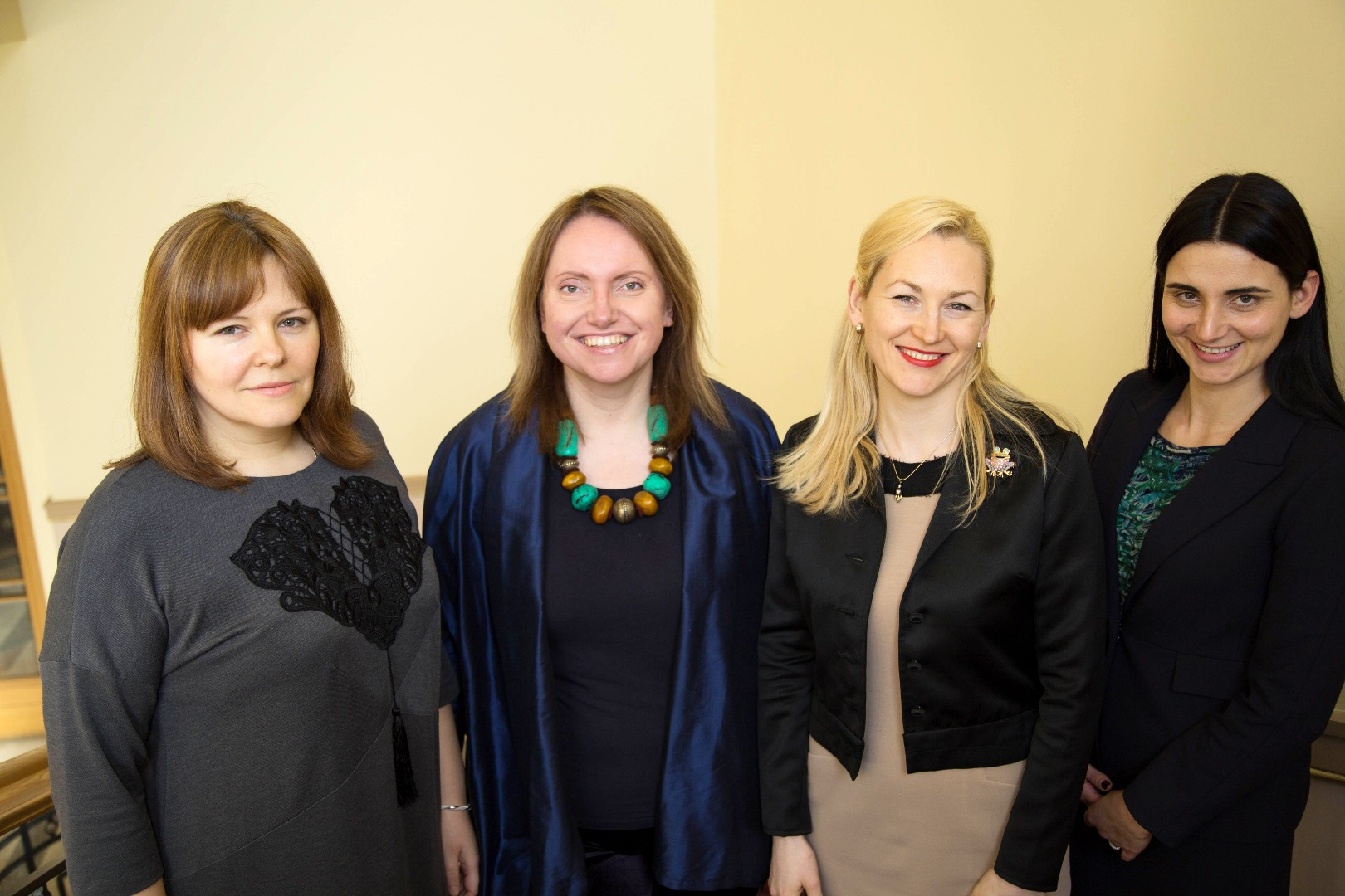 02.01.2017. In 2017, a new structural unit has commenced its work at the Supreme Court – Secretariat of the Council for the Judiciary. Its basic function is ensuring the operation of the Council for the Judiciary. (On photo from left): Consultant Irina Casa, Head of the Secretariat Sovita Harbacevica, Adviser Dace Sulmane and Legal adviser Linda Kalnina.