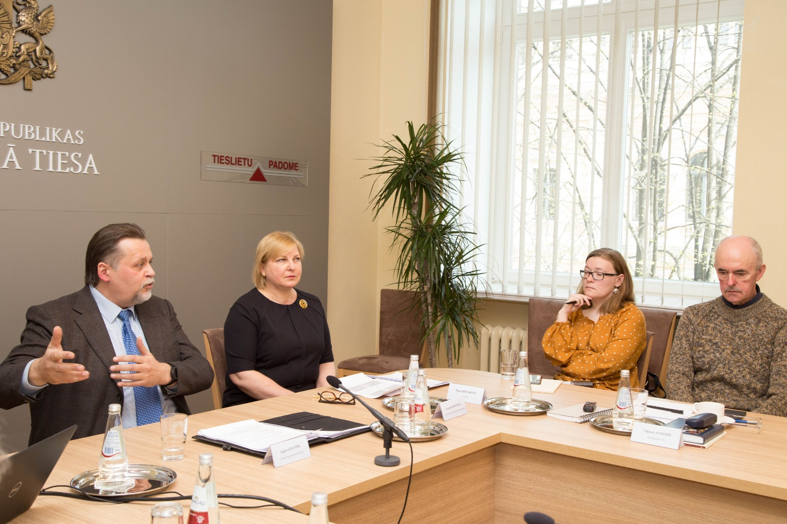 25.04.2019. On the Media Day the Chief Justice of the Supreme Court and chairs of the departments informed the journalists about the topicalities of the Supreme Court and the judiciary, as well as about the most important rulings of the Senate, which established the case-law and could be useful and interesting in the work of journalists.