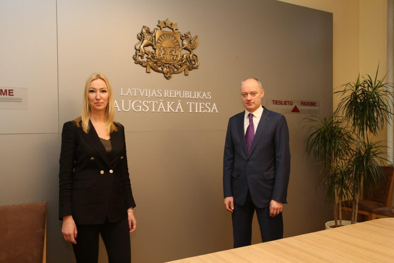 01.02.2021. For two years judges of a regional court Lauma Paeglkalna and Valters Pokis will be acting judges of the Senate's Department of Administrative Cases