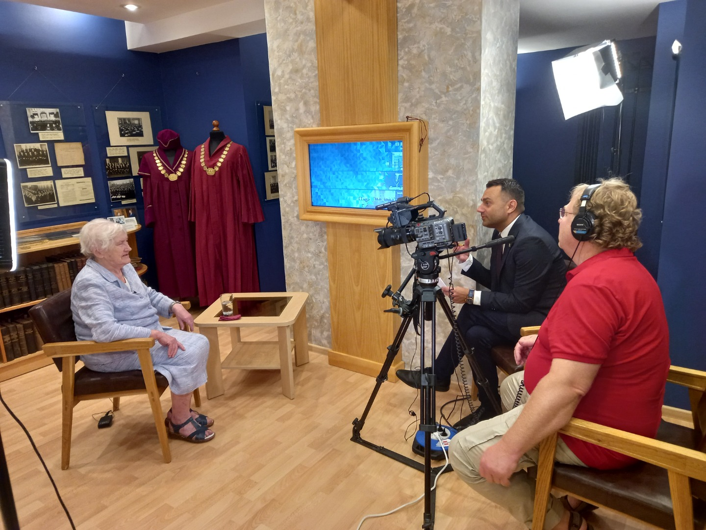 28.07.2021. Video interviews to preserve the memories of the members of the working group for the development of the Administrative Procedure Law about their work more than 20 years ago