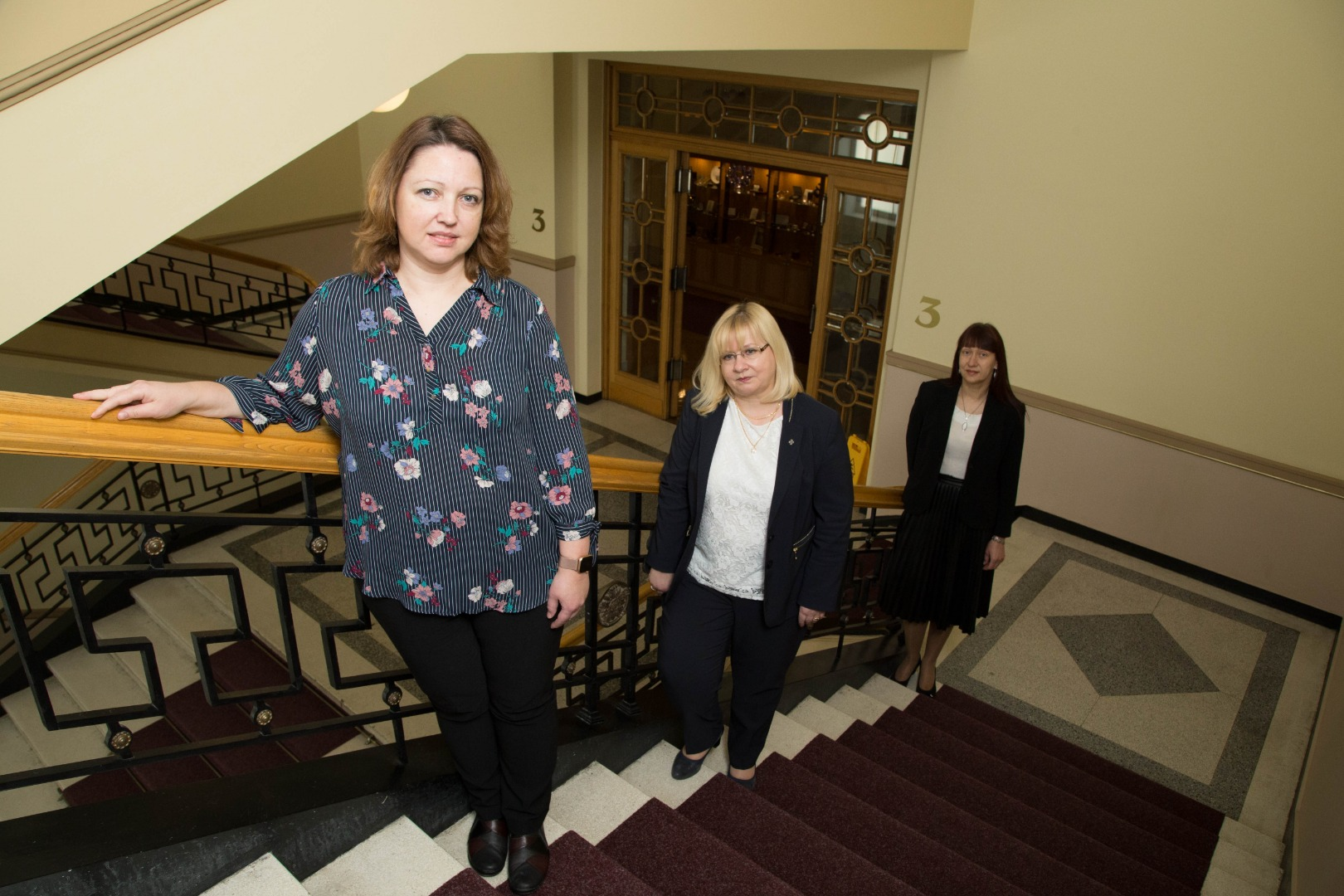 01.02.2021. Judges of lower courts Daiga Lubane, Silva Reinholde, and Iveta Stuberovska are taking an internship at the Supreme Court for 6 months