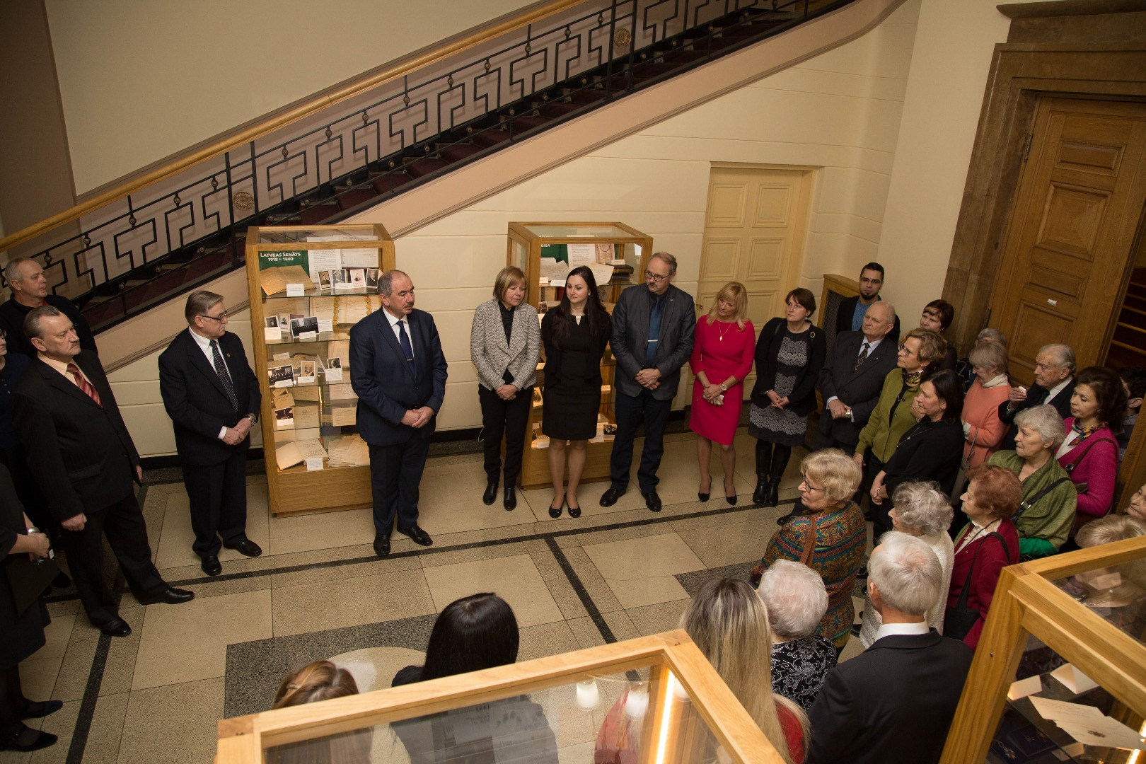 19.12.2017. Exhibition about the Senate of Latvia at the Supreme Court