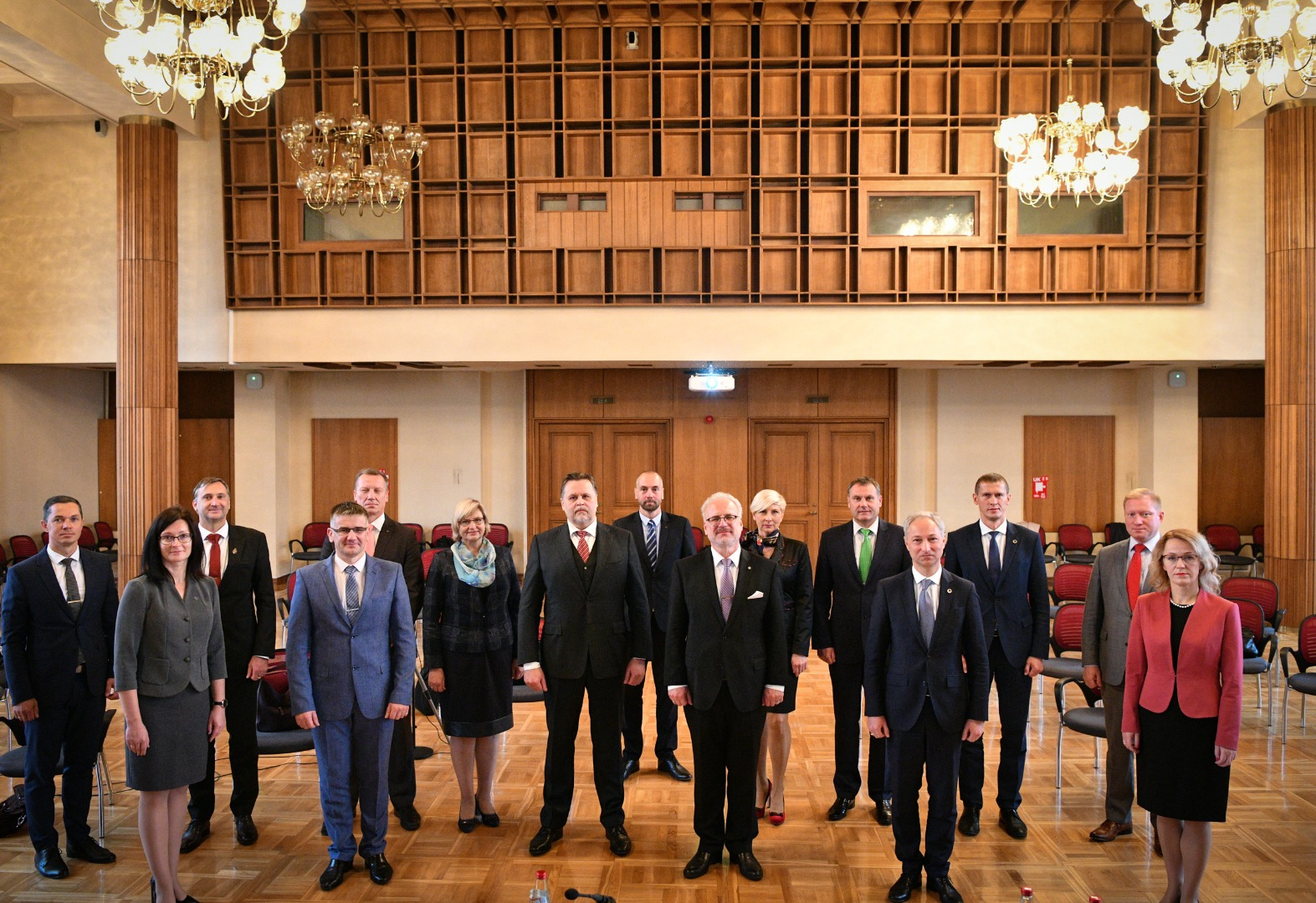 28.09.2020.  The ten-year anniversary of the Judicial Council was celebrated at the solemn sitting with the participation of the President of Latvia, current and former members of the Judicial Council, heads of judicial self-government organizations. Photo by the Chancery of State President.