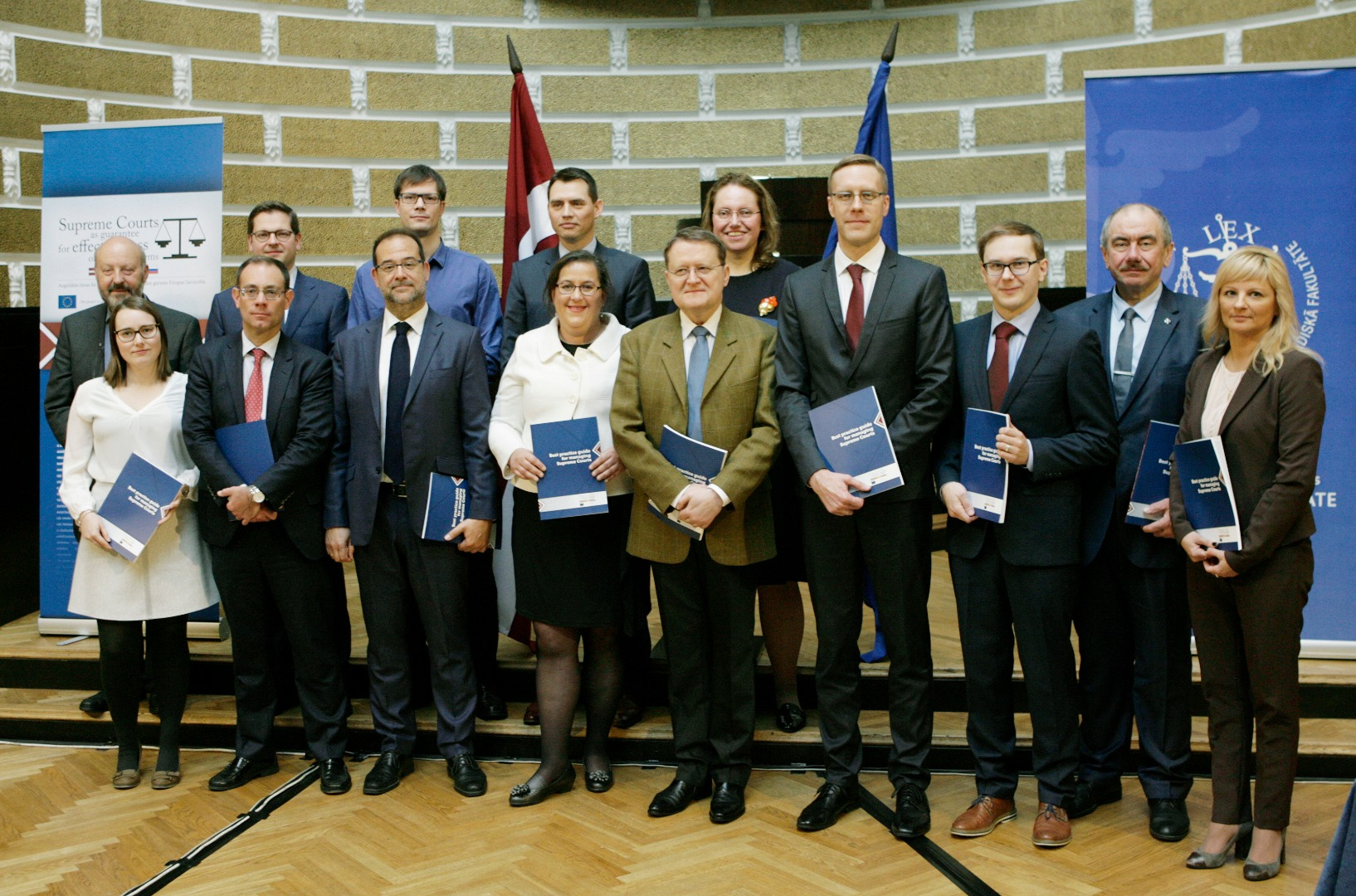 21.04.2017. Opening of a handbook in managing the work of the Supreme Courts