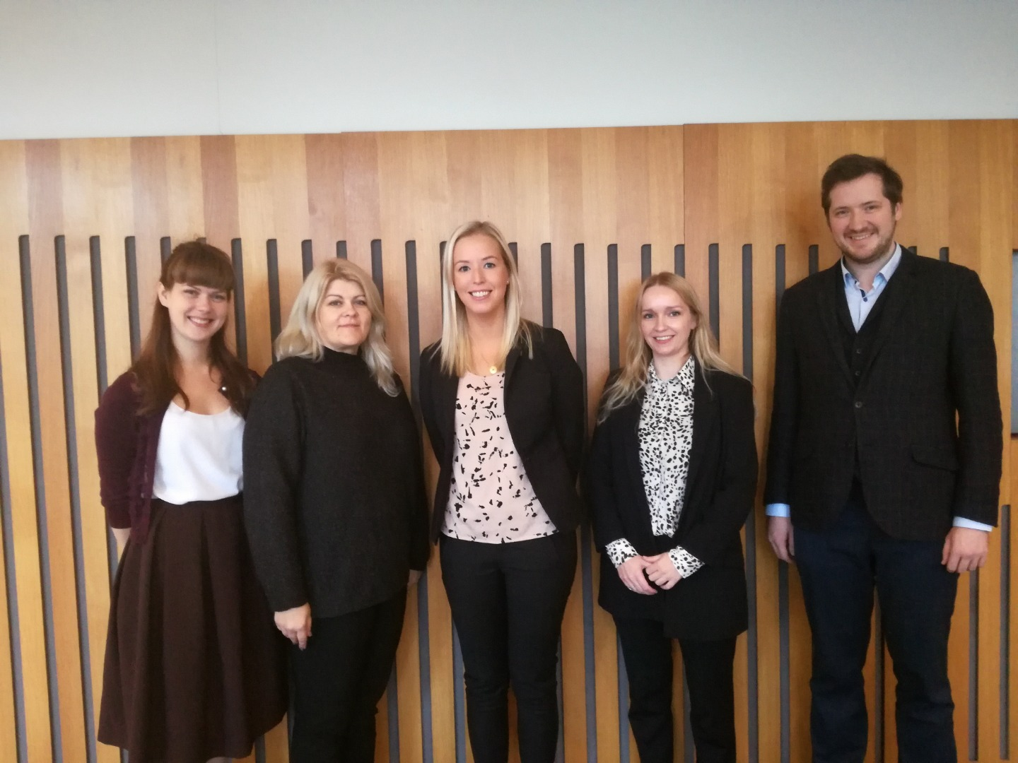 """17.10.2019. During the project """"Role of an Assistant to Judge in the Effective Organization of the Work of the Supreme Court"""", the Supreme Court of Iceland was visited by Sanita Jefimova, Assistant to Chair of the Department of Criminal Cases, Madara Senbruna, Assistant to Judge of the Department of Administrative Cases, and Reinis Odins, Legal Research Counsel to the Department of Civil Cases. The project implemented by the Supreme Court's Administration was supported by the Nordic-Baltic Mobility Program. The employees visited several Nordic Supreme Courts."""