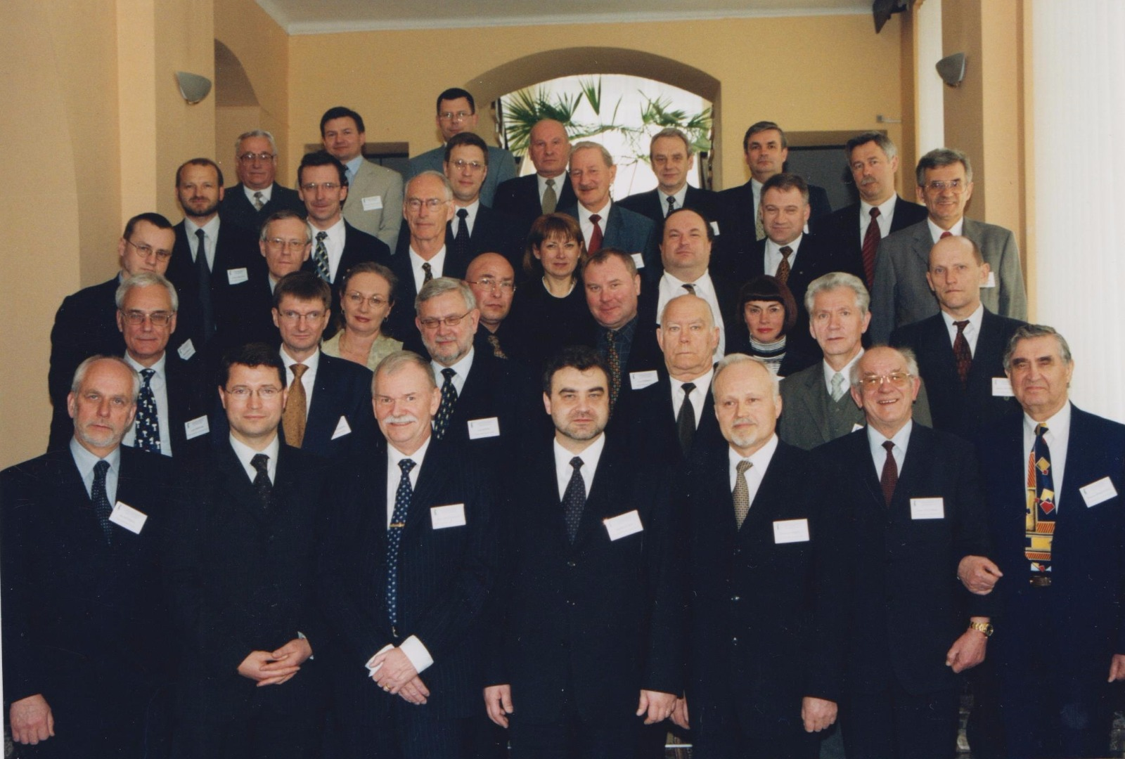 Founding members of the Network in Paris, 2004. Latvia was represented by Deputy Chief Justice Gunars Aigars