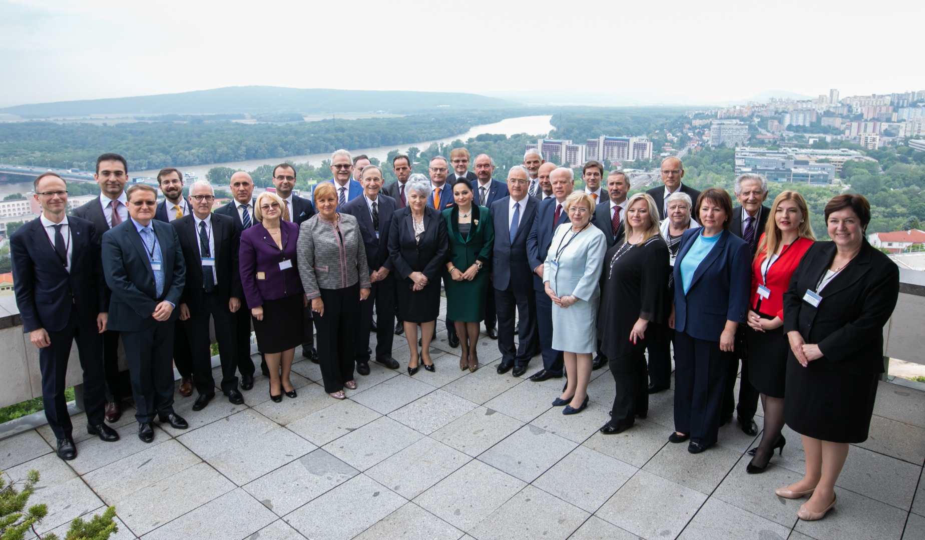 Chief Justices from Central and Eastern Europe in Bratislava, 2019