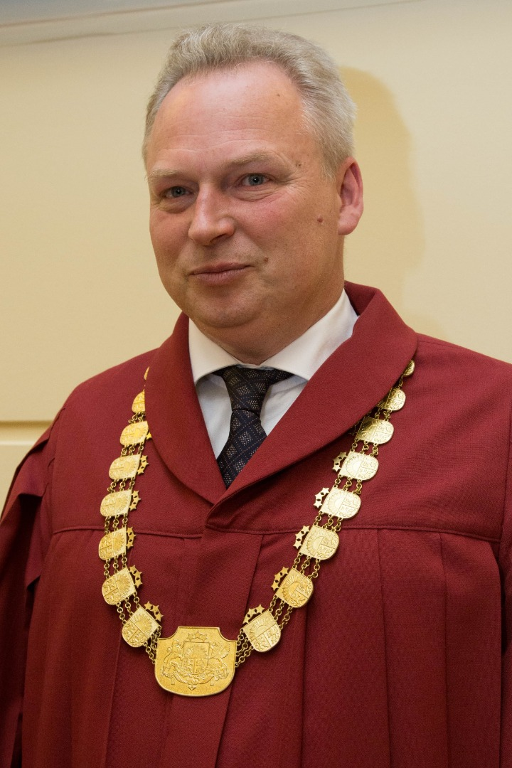 Normunds Salenieks, Chair of the Department of Civil Cases